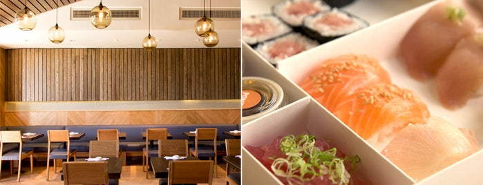 SUGARFISH is one of L.A.'s Best Sushi Spots.