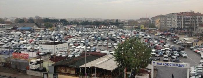 Rami Açık Oto Pazarı is one of สถานที่ที่ Nedim ถูกใจ.