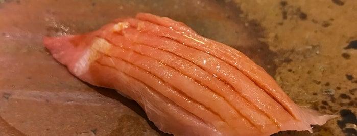 Sushi Ginza Onodera is one of Posti salvati di Sydney.