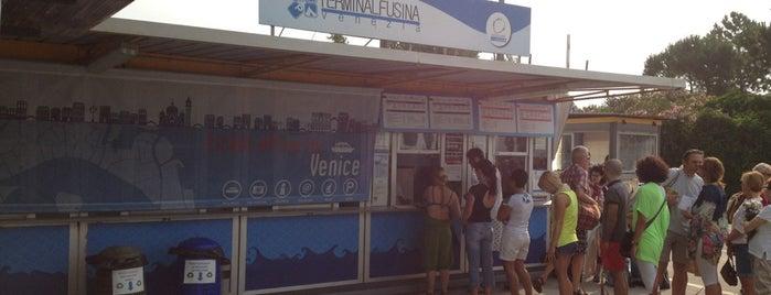 Terminal Fusina is one of Venezia.