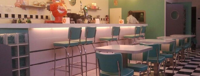 Retro 50`s American Diner is one of Aranjuez.