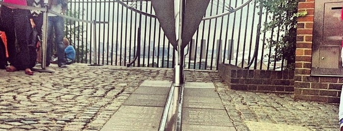 Greenwich Meridian is one of Greenwich and Docklands; London.