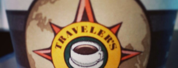 Traveler's Coffee is one of Lugares favoritos de Julia.