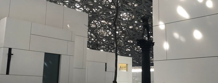 Louvre Abu Dhabi is one of DXB.