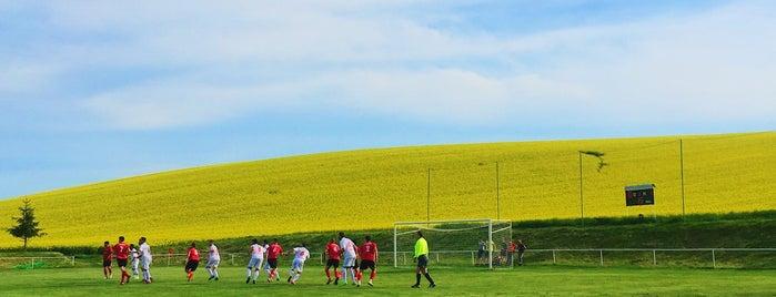 Futbalový štadión Rybky is one of Futbalové štadióny ObFZ Senica.