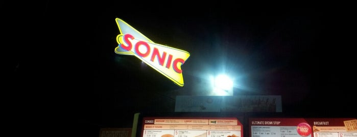 SONIC Drive In is one of Marty mar always love and thanks.
