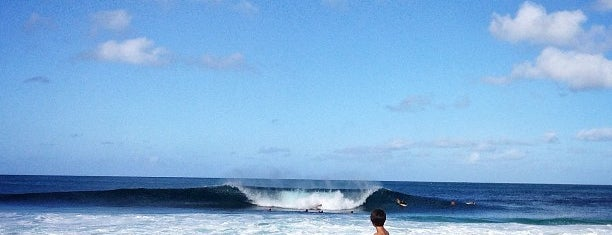 Pipeline is one of Hawaii.