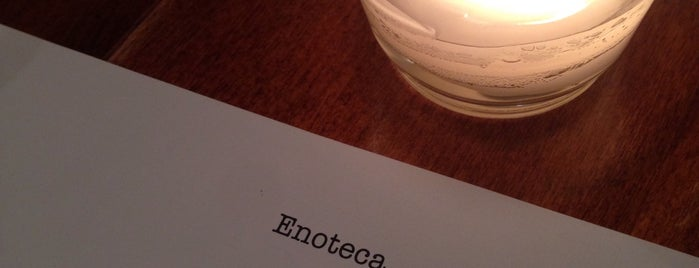 Enoteca is one of Lugares favoritos de Ashleigh.