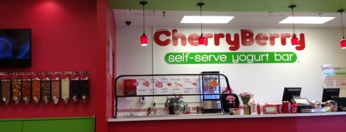 CherryBerry Yogurt Bar is one of Locais salvos de Emily.