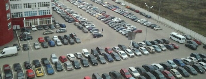 Паркинг БП «Румянцево» is one of สถานที่ที่ Verun ถูกใจ.
