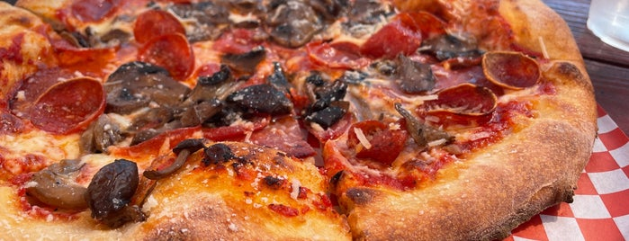 Delicious Pizza is one of LA eats.