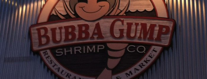 Bubba Gump Shrimp Co is one of #myhints4OrangeCounty.