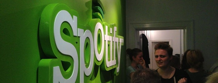 Spotify Copenhagen is one of Spotify spots  #lifeatSpotify.