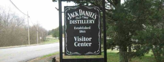 Jack Daniel's Distillery is one of Places I Go when I Travel.