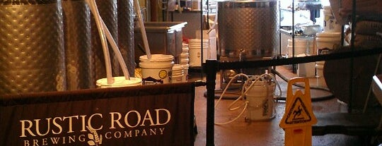 Rustic Road Brewery is one of Breweries or Bust 3.