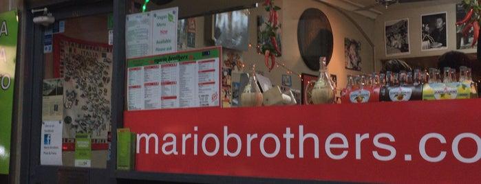 Mario Brothers Pizza & Pasta is one of Dasha : понравившиеся места.