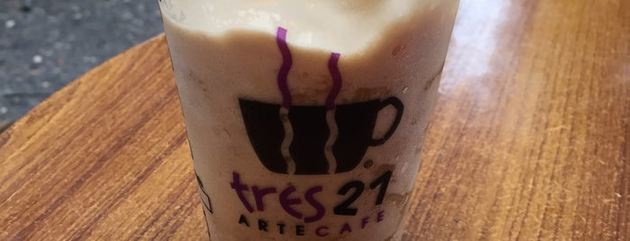 Tres 21 Arte Café is one of Get Your Fancy Coffee.
