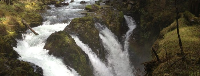 Sol Duc Falls is one of Seattle things to do.
