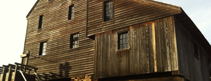 Historic Yates Mill County Park is one of NC.