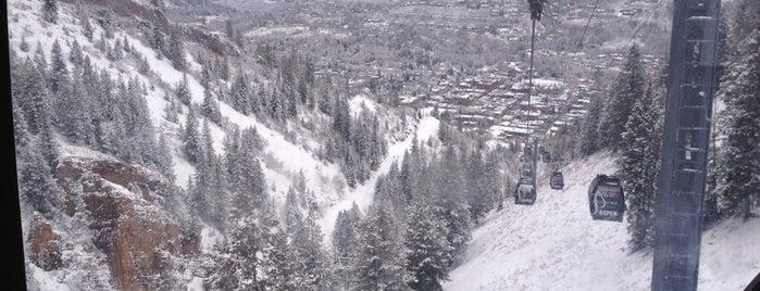 Aspen Mountain is one of ski bumming.