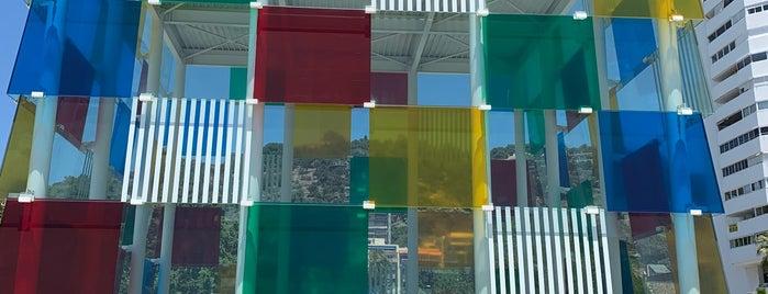 Centre Pompidou Málaga is one of Orte, die Cristi gefallen.