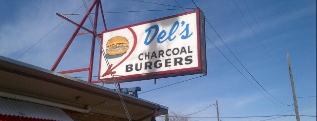 Del's Charcoal Burgers is one of Food junkies.
