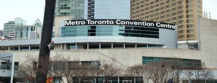 Metro Toronto Convention Centre - South Building is one of Victor'un Beğendiği Mekanlar.