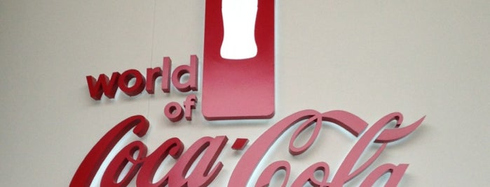 World of Coca-Cola is one of Things to do in  Atlanta Georgia.