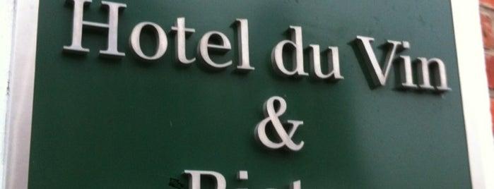 Hotel du Vin is one of Lugares favoritos de Mike.