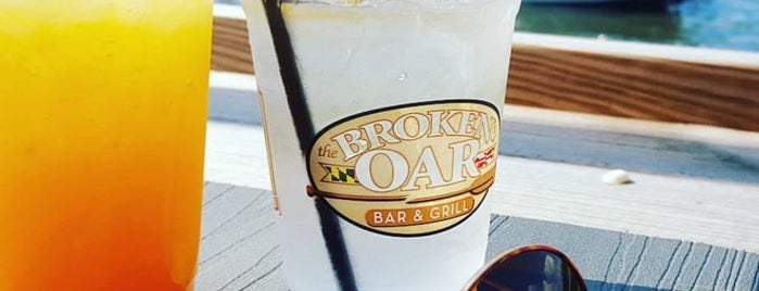 Broken Oar Bar & Grill is one of Best of the Bay - Dock Bars of Maryland.