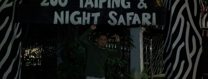 Zoo Taiping & Night Safari is one of Attraction Places to Visit.