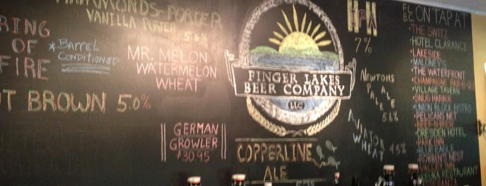 Finger Lakes Beer Company is one of Breweries.