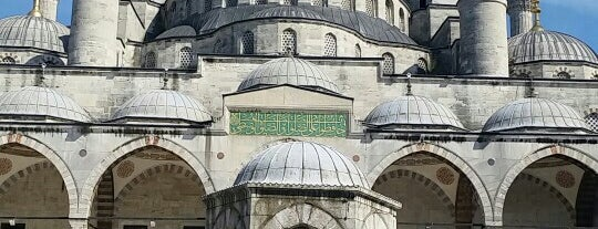 Sultan Ahmet Camii is one of Istanbul.