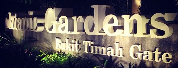 Singapore Botanic Gardens is one of POI@SG.