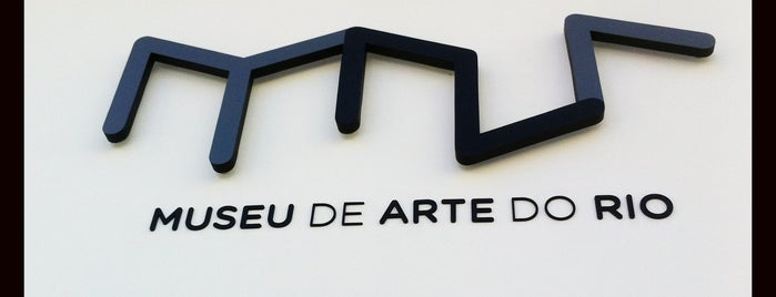 Museu de Arte do Rio (MAR) is one of ERREJOTA.