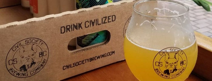 Civil Society Brewing Company is one of Breweries 🍺.