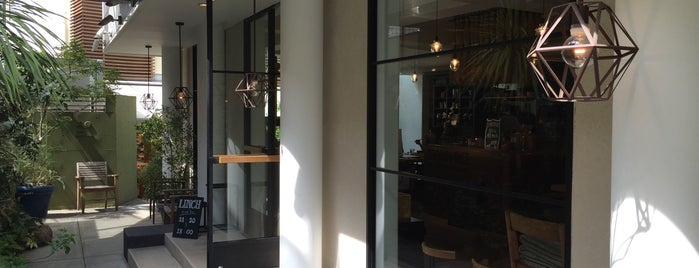 BROWN RICE CAFE & DELI is one of Topics for Restaurant & Bar ⑤.