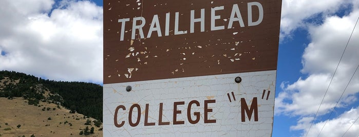 """College """"M"""" Trail is one of Bozeman 2020."""