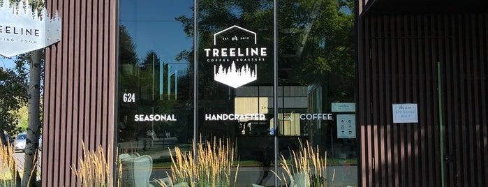 Treeline Coffee Roasters is one of Bozeman 2020.