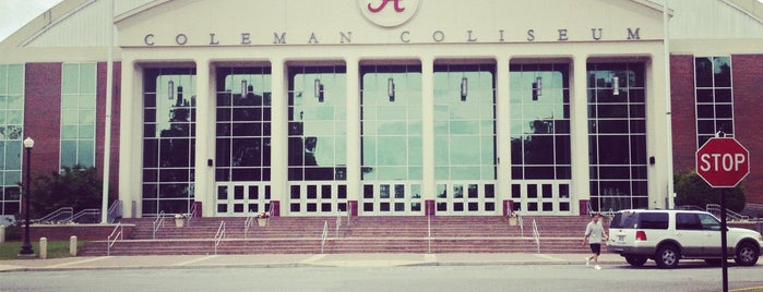 Coleman Coliseum is one of dos....