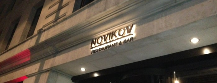 Novikov is one of London food.