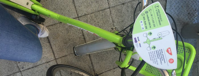 MOL Bubi 0701 is one of MOL Bubi bike rental.