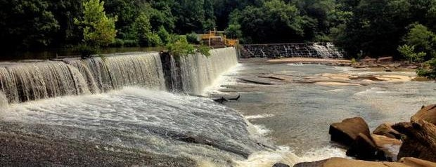 River Park at Cooleemee Falls is one of NC's Best-Kept Secrets.