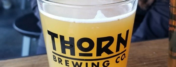 Thorn Brewery is one of Yet to Visit.