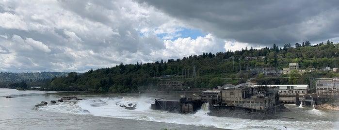 Willamette Falls is one of Tempat yang Disukai Susan.