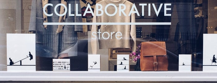 The Collaborative Store is one of London.