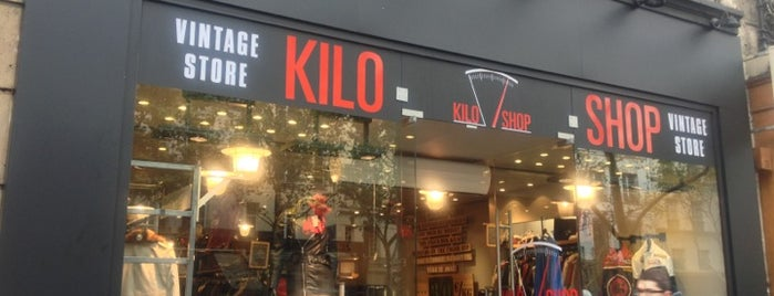Kilo Shop is one of Paris.