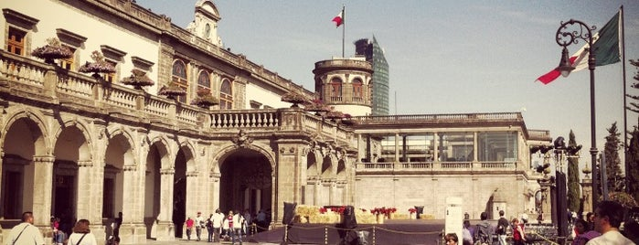 Museo Nacional de Historia (Castillo de Chapultepec) is one of Mexico City's Best Museums - 2013.