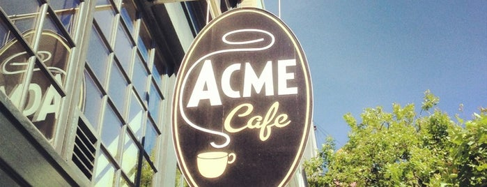 Acme Cafe is one of Great Breakfast Joints in Vancouver.