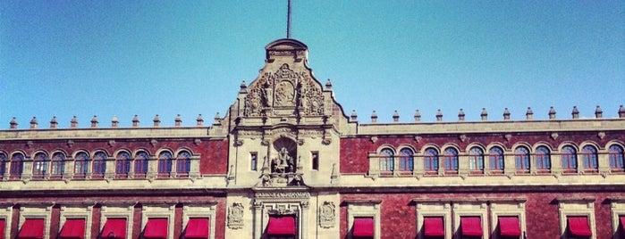 Palacio Nacional is one of CDMX.